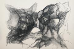 Blackwinged night I, 2108 (31 x 41 cm)