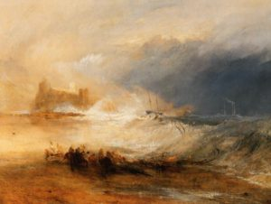 Wreckers Coast of Northumberland, 1836. J. W. Turner