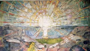 The sun (1911-1916) Edvard Munch