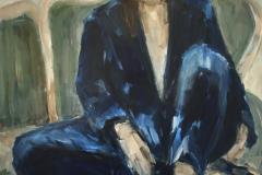 Blue suit, 2021.
