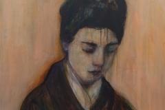 The Asian girl, 2018 (100 x 90 cm)