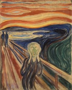 The Scream (1893) Edvard Munch